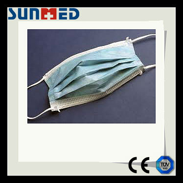 Low price non woven 3 ply face mask
