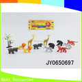 Jungle Animals Toys Plastic Animals Toy Set Mini Farm Set With Animals