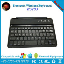 thickness aluminum metal bluetooth keyboard for ipad air, for ipad 2 3 4