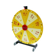 "24"" Fortune wheel stand , Tabletop Prize Wheel, Promotional Spinning Game Wheel of Fortune"