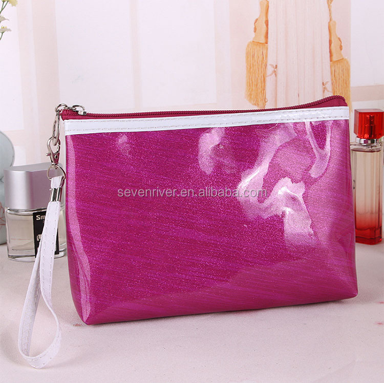 Promotional Pouch Size Make up Bags In Stock/New Zipper-around Cosmetic Bags/Makeup Purses