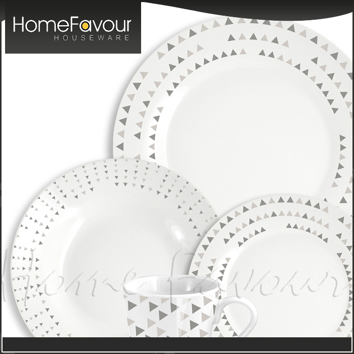 Ten Years Experience Manufacturer Durable Household China Dinnerware Brands