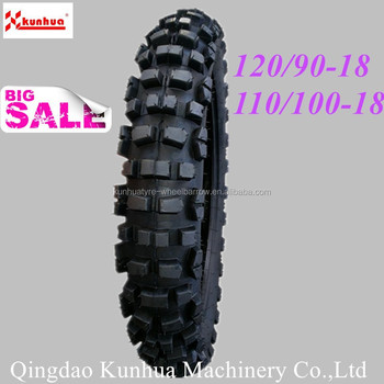 120/90-18 110/100-18 Motorcycle tyre off Road,Motocross tyre