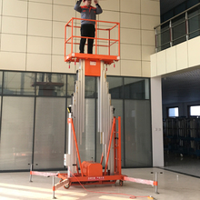 Factory Sale vertical electric single person lift mobile one man lift for sale