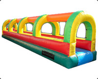 Inflatable Slip and Water Slide