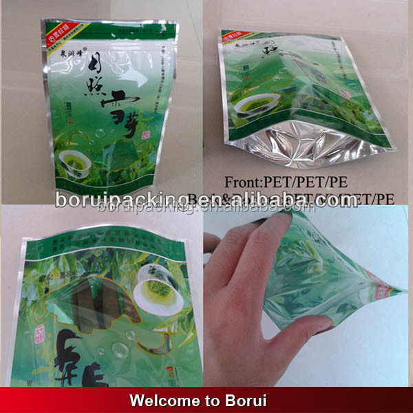 Chinese artistic stand up plastic biodegradable high quality pyramid heat seal empty nylon mesh triangle tea bag