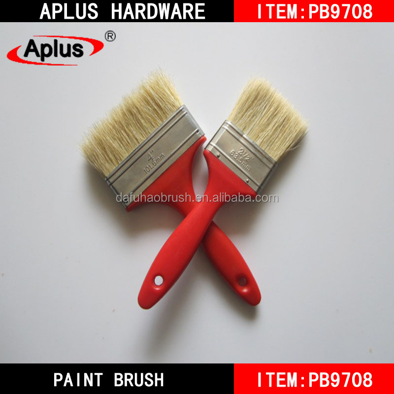 New design wooden boar bristle paint brush house painting tool