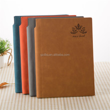 Professional stationery hot sale hardcover pu notebook with elastic band