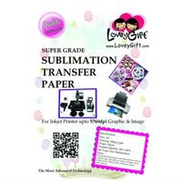 A4 Sublimation Transfer Paper - SUPER GRADE