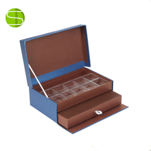 Luxury Chocolate Gift Packaging Paper Box with Paper Divider