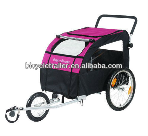 pet/dog bike bicycle trailer stroller jogger pet trailer