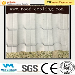 Galvanized steel coil Heat Insulation White Cooling Roof Tile Building Materials