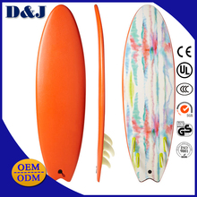 Wholesale China Manufacturer Maple Wood Durable Fin Soft Surfboards Longboards for Watersports