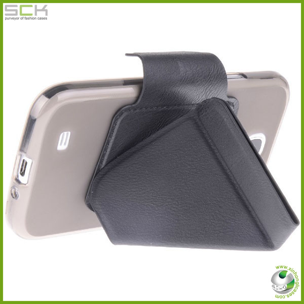 Folding Flip 360 Rotating stand case for samsung s4