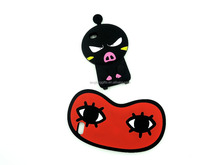 lovely environmental cartoon character silicone cell mobile phone shell case phone