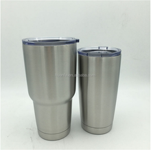 Popular item 304 stainless steel cup double layer coffee cup without handle cusptomized 20oz 30oz beer cup