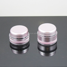 Plastic cosmetic jar bottle set package