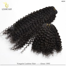 Chocolate Manufacturer Brand Name Product Low Price Full Cuticle 1b mongolian afro curl virgin hair