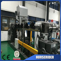 Plastic pe pp film grinding pelletizing production line/waste pp pe film granulator plant/doulbe stage plastic recycling