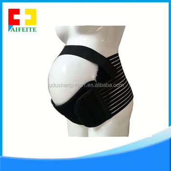 Breathable Elastic Maternity Support Belt Pus Size Pregnancy Belly Band Back Brace For Pregnant Women