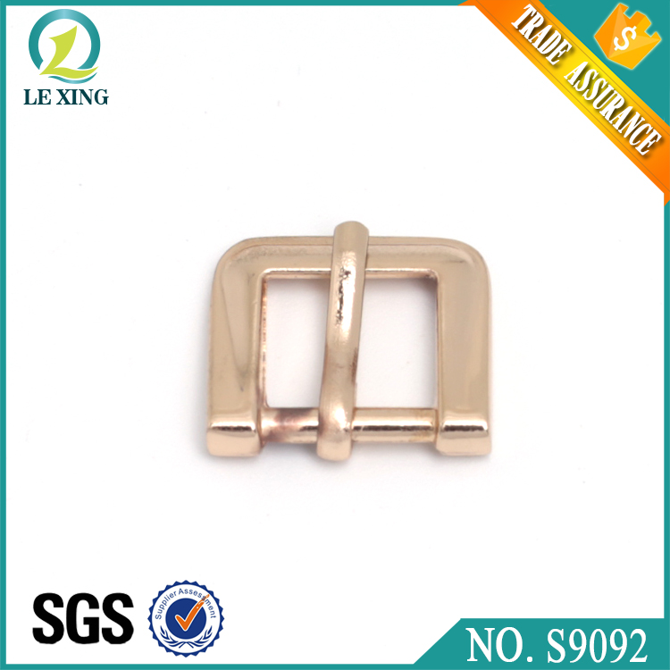 Hot sale metal square bag buckle pin buckle use for dog collars wholesale