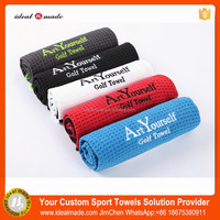 Hot Sale Fashion Print Microfibre Gym Towel With Custom Embroidery Logo