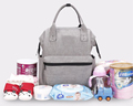 2017 Factory customized wholesale diaper bag backpack baby nappy bag for mother