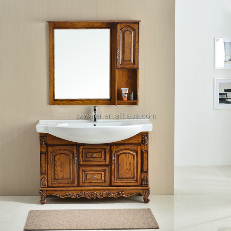 1068 Antique Bathroom vanity and classic bathroom wash basin cabinet