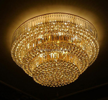 Big Luxury Modern Chandelier Crystal Ceiling Lamp Chandelier LED Light Crystal Chandelier Pendant Light