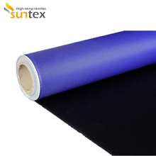 Thermal insulation cover use PU coating fiberglass insulating fabric