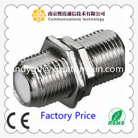 F MALE adapter connector/RF coaxial cable connector