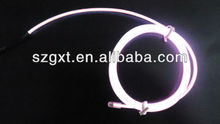 Bright EL Chasing Wire Polar Light 3 EL Wire in 10 Different Colors for 2014 Best-selling Product EL Wire