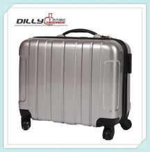 rigid multifunction abs trolley laptop bag suitcase for document