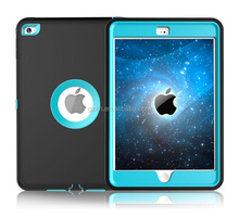 Tri-fold magnetic smart shockproof heavy duty case for iPad mini 123