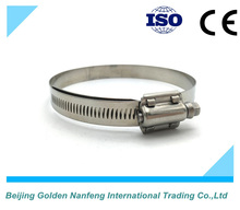 used for commerical vehicles american heavy duty hose clamp