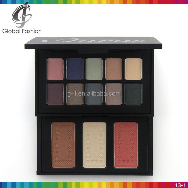 OEM cosmetic all in one makeup set eyeshadow and blush