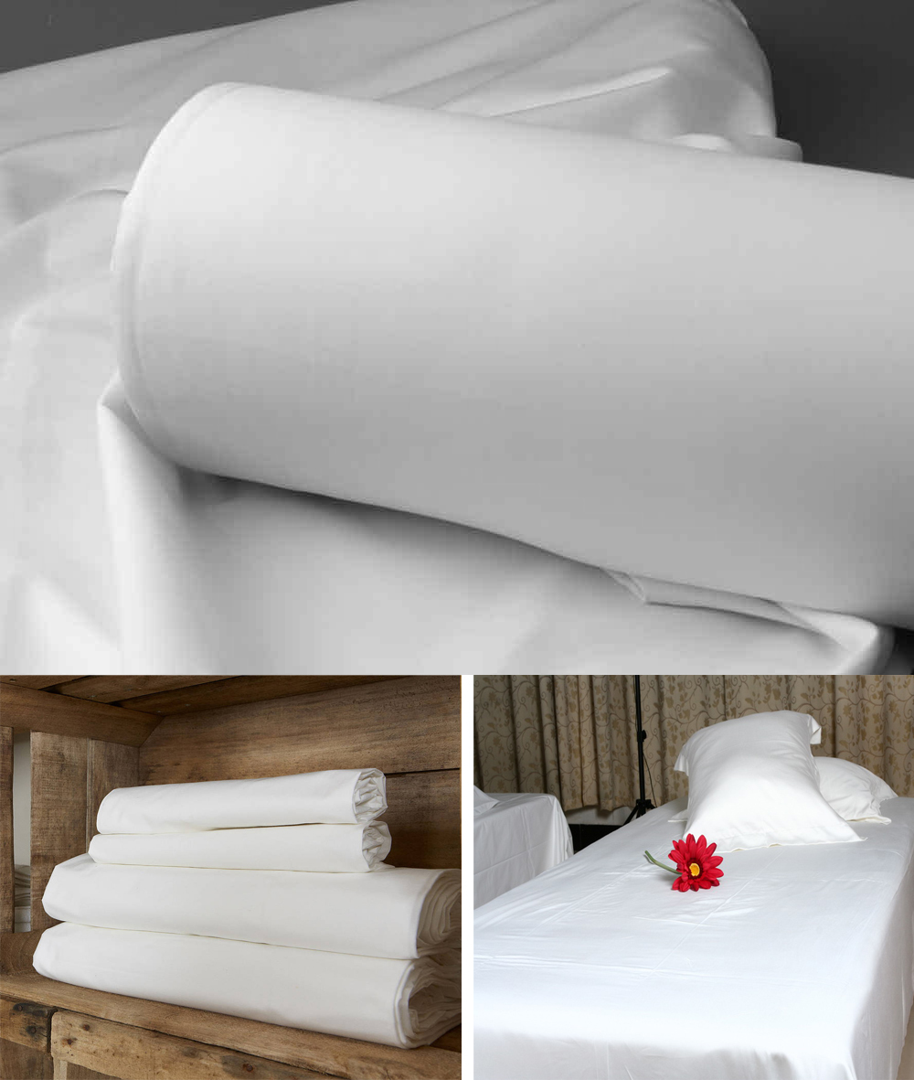 100 Cotton Plain White Fabric For Bed Sheet In Rolls Buy