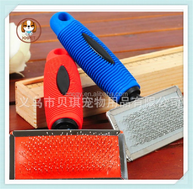 hot sale Large dog grooming slicker brush