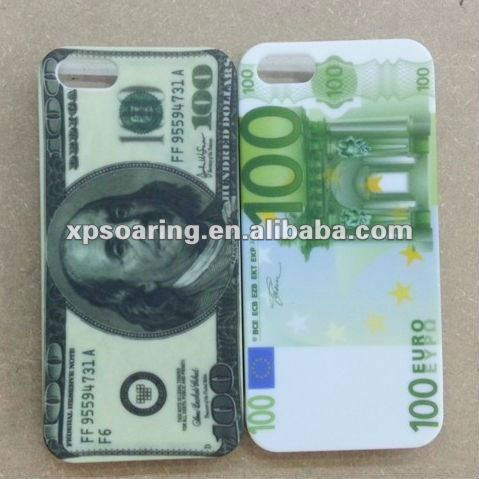 US dollar case back cover for iphone 5