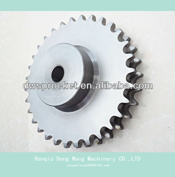 A B series standard double rows sprockets for roller chain
