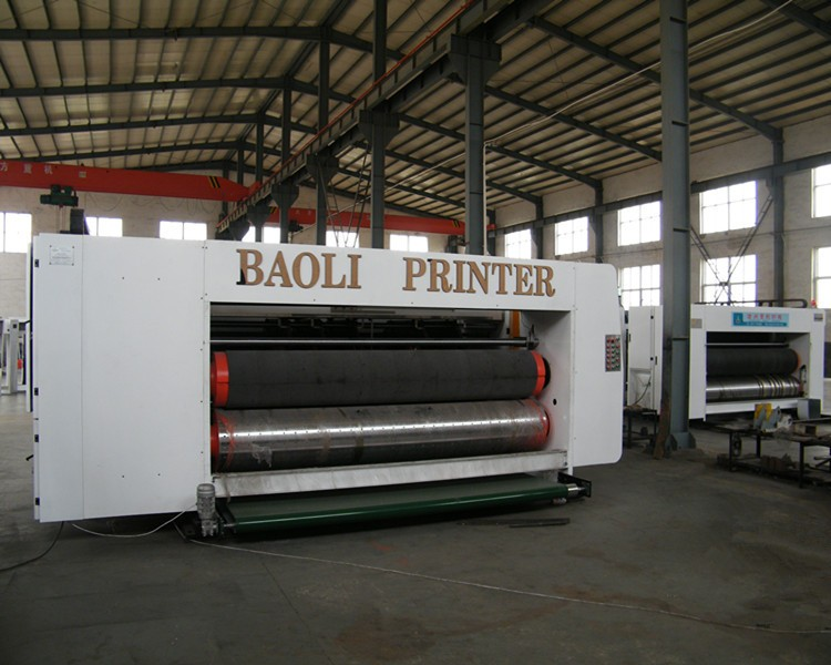 Full Automatic high speed corrugated carton box 4 color flexo printing slotting and die cutting machine/Carton making machine