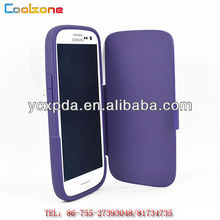 beautiful book-book leather skin case for Samsung GALAXY S3 I9300