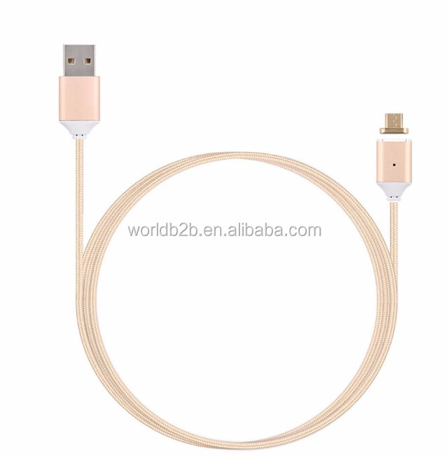 Micro USB Magnetic Charging Cable Adapter Charger cable magnetic usb cable for Samsung