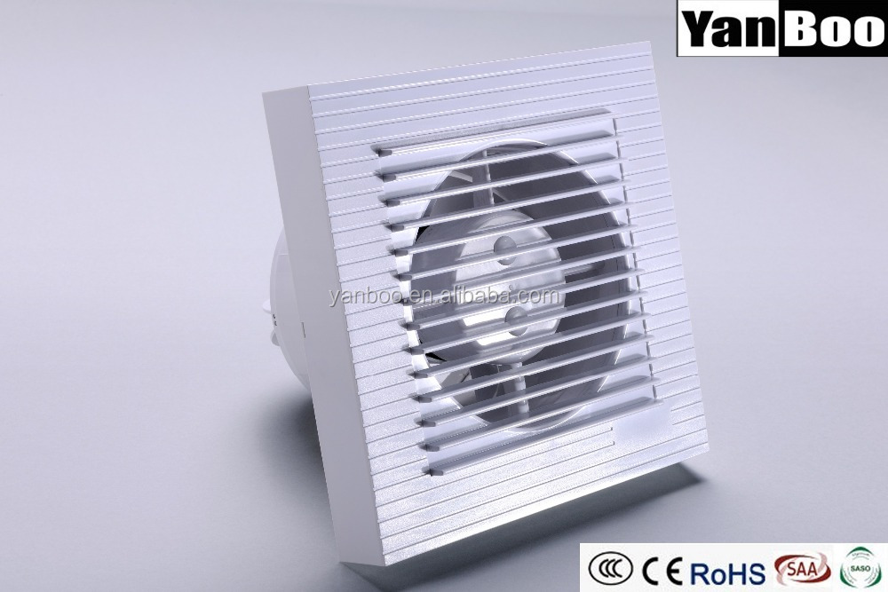6 Inch Bathroom Fan Window Kitchen Ventilator Small Wall Exhaust Fan