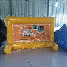 High quality sealed advertising tarpaulin banner inflatable outdoor advertising banners