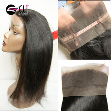 Silk base 360 lace frontal closure 10''-20'' Adjustable Full lace wig pre-plucked 360 full lace wigs