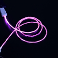 Pinyi LED USB Cable Micro USB LED light Data Sync cord Charging cable