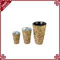 Wholesales handmade rattan flower pot for office and garden