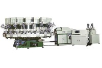 Rotary Type Automatic PU Single Density Injection Moulding Machine