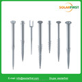 ground screw for solar ground installation hot galvanized type ground anchor with factory price
